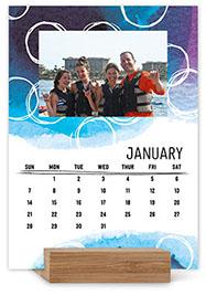 watercolor patterns gallery easel calendar