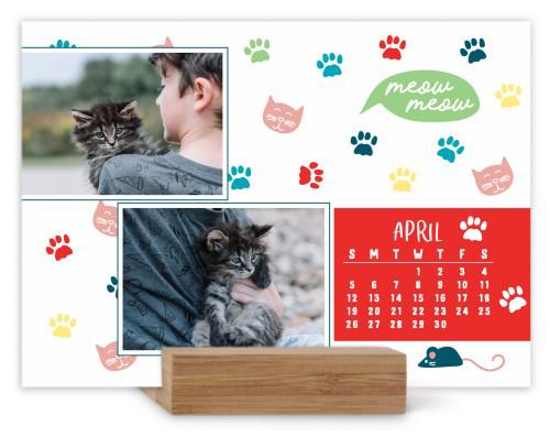 must love cats easel calendar