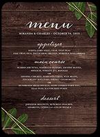 ingrained love wedding menu