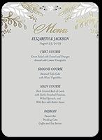 Wedding menu cards shutterfly wedding menu from 119 affectionate floral junglespirit Gallery