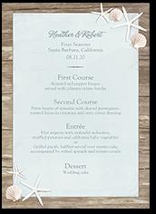 sweet starfish wedding menu