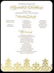 Cheap Wedding Programs Shutterfly