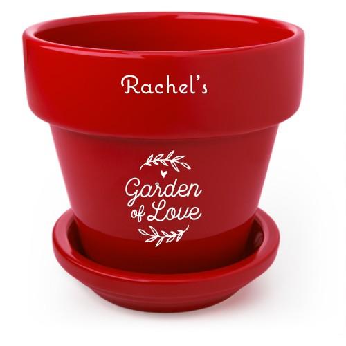 Garden Of Love Flower Pot