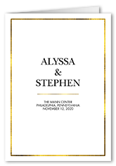 wedding programs shutterfly