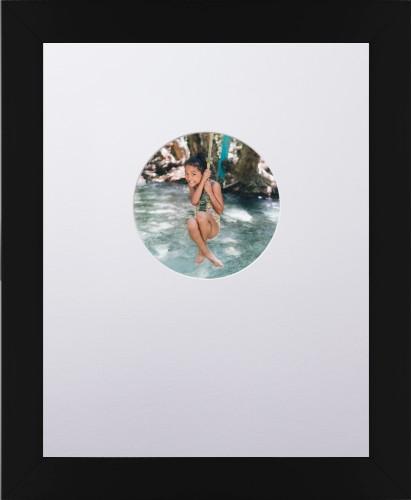 Circle Offset Premium White