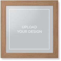 upload your own design framed print