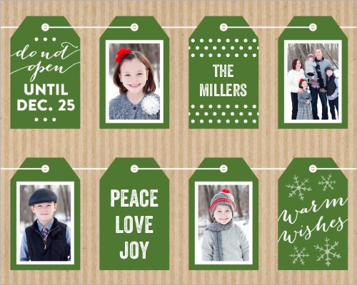 Warm Wishes Gift Tags Gift Wrap