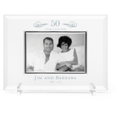 years of love glass frame