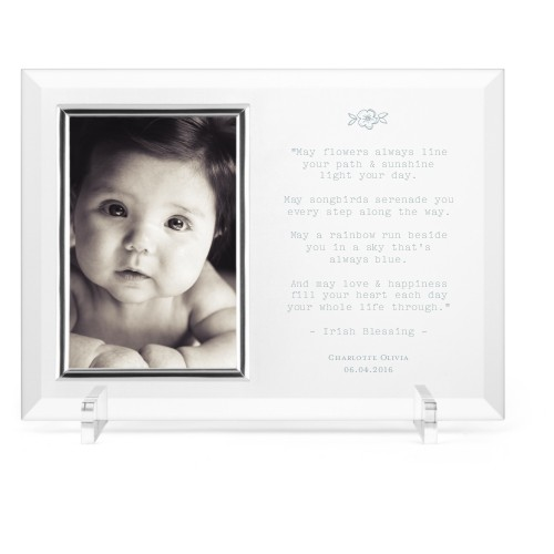 A Beautiful Blessing Glass Frame