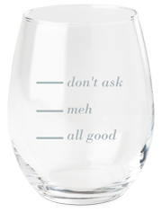 whats your level wine glass