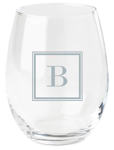 Timeless Frame Wine Glass, White