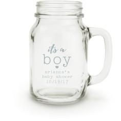 its a mason jar