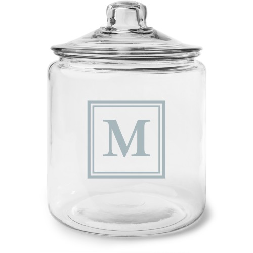 Keyline Monogram Glass Jar