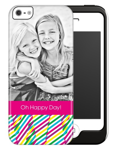 Bright Happy Stripes iPhone Case