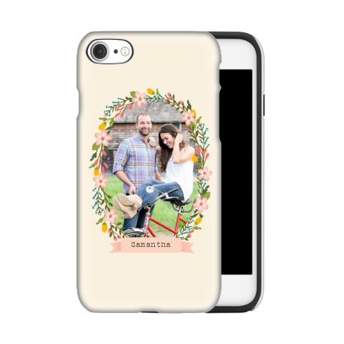 Floral Frame iPhone Case