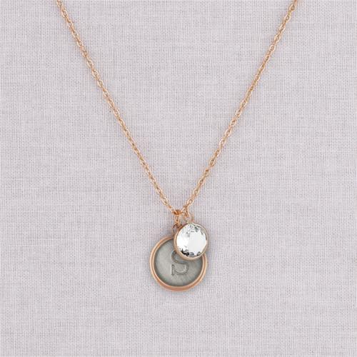Rose Gold Sara Necklace
