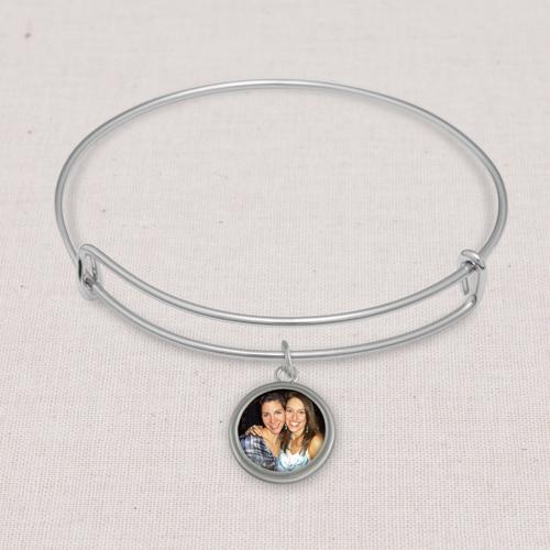 Jewelry: Silver Camila Bangle, Adult Unisex, Jewelry Bundle