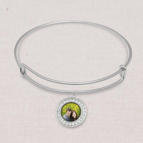 Jewelry: Silver Claudia Bangle, Adult Unisex, Jewelry Bundle