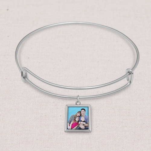 Silver Kelly Bangle