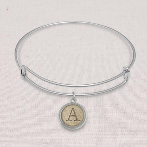 Jewelry: Silver Amy Bangle, Adult Unisex, Jewelry Bundle