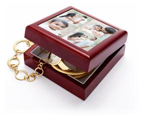 gallery of four keepsake box