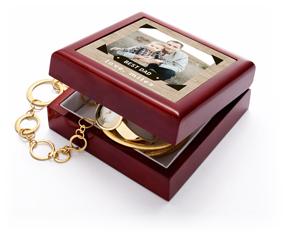 best dad rustic keepsake box