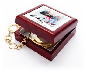 blessed script keepsake box