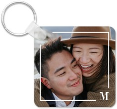 keyline monogram key ring