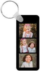 photo gallery rectangle key ring