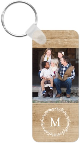 Rustic Foliage Personalized Keychains | Shutterfly
