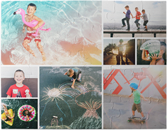 gallery of eight kids puzzle