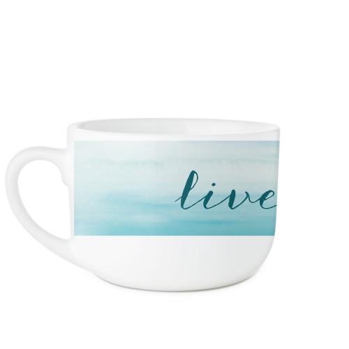 Brushed Ombre Latte Mug