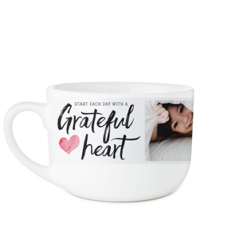 Grateful Heart Latte Mug