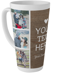 your own words tall latte mug
