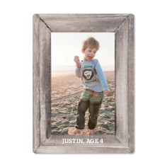 photo real vertical frame magnet