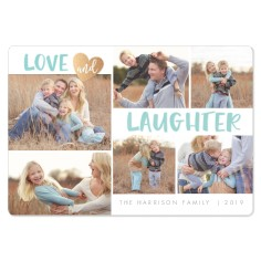 love and laughter magnet