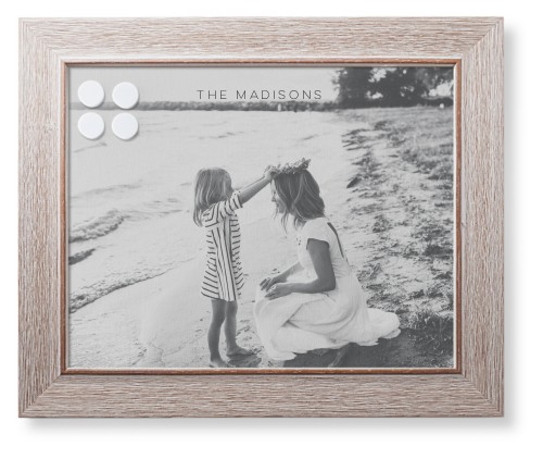 Photo Gallery Framed Magnetic Board