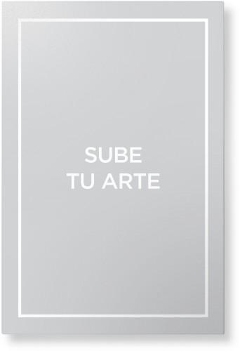 Sube Tu Arte Metal Wall Art, Single piece, 20 x 30 inches, True Color / Matte, Multicolor