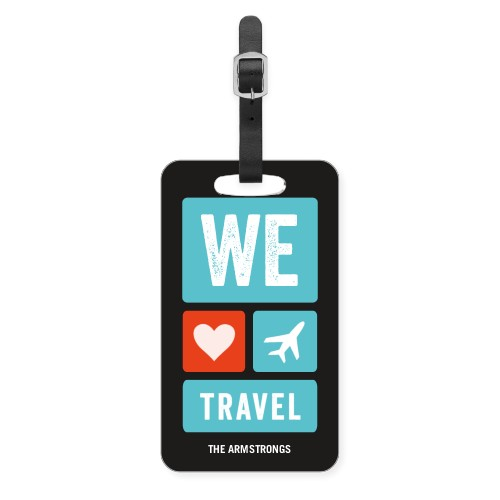 We Heart Travel Luggage Tag