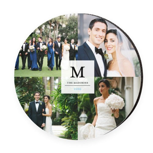 Classic Initial Wedding Mouse Pad