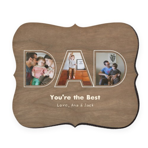 Dad You're The Best Mouse Pad, Bracket, DynamicColor
