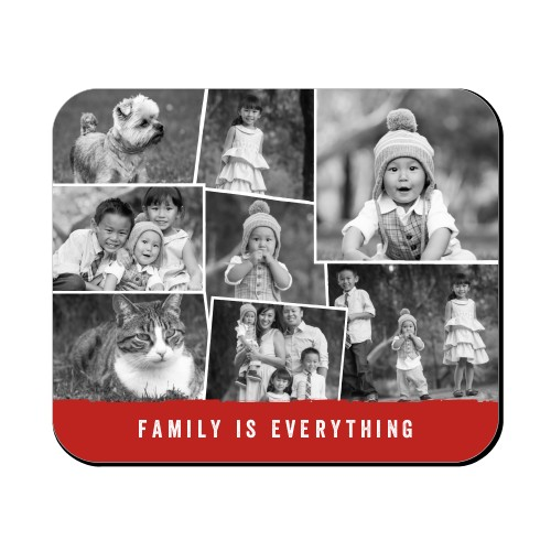 Tilty Collage Mouse Pad