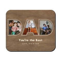 father s day mouse pads custom mouse pads photo mouse pads
