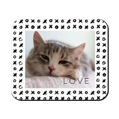 pet gallery with border mouse pad