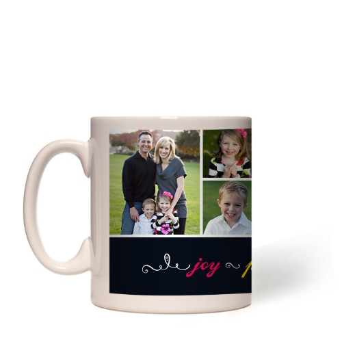 Joy Peace Love Family Mug