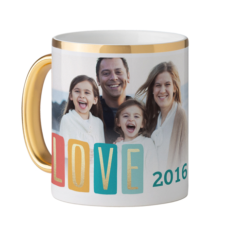 Colorful Love Mug