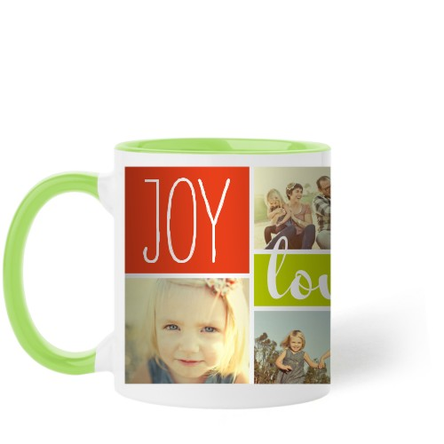 Joy Love Family Mug