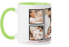 love script colorblock mug