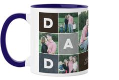 dad color blocks mug