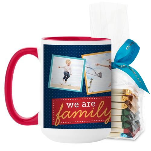 We Are Family Mug Blue